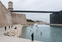 new harbour basin between the Fort Saint-Jean and the Mucem