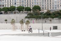 Esplanade of the J4 in front of the MUCEM