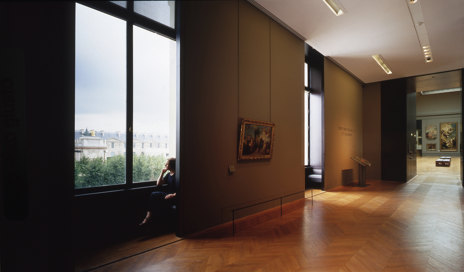 Italian and Spanish paintings rooms